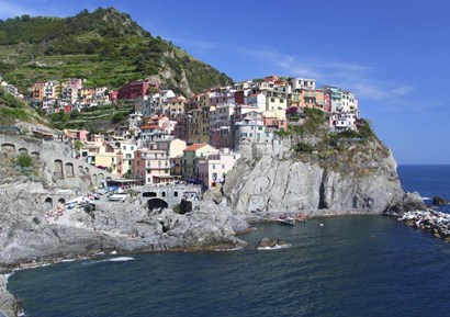 Cinque Terra 1 by Christopher Bliss art print