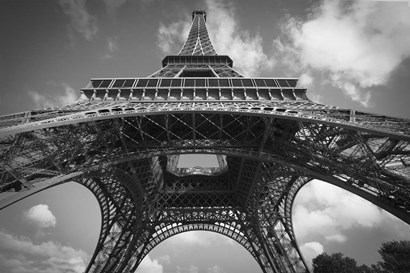 Eiffel 7 BW by Christopher Bliss art print