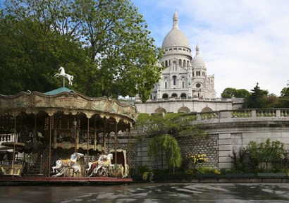 Sacre Coure 2 by Christopher Bliss art print