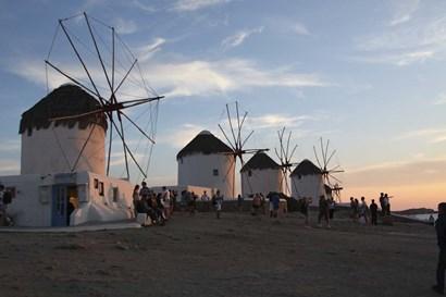 Windmills by Christopher Bliss art print