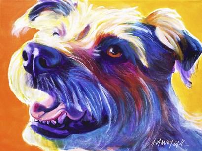 Wire Hair Terrier - Penny by DawgArt art print