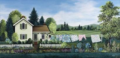 Washing Line by Debbi Wetzel art print