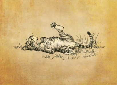 Bliss In The Grass by Evie Cook art print