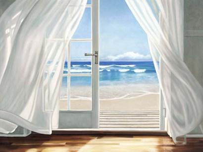 Window by the Sea by Pierre Benson art print