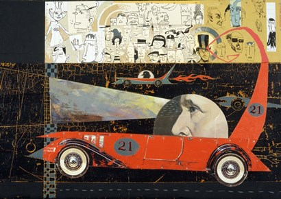 Car 21 by Anthony Freda art print