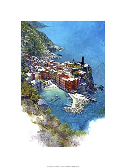 Cinque Terre - Vernazza, Italy by Bruce White art print