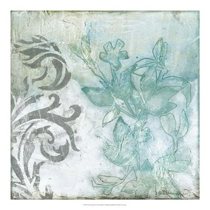 Flower Spray II by Jennifer Goldberger art print