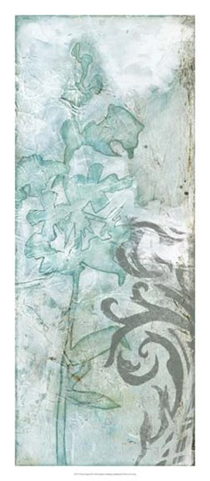 Flower Spray III by Jennifer Goldberger art print