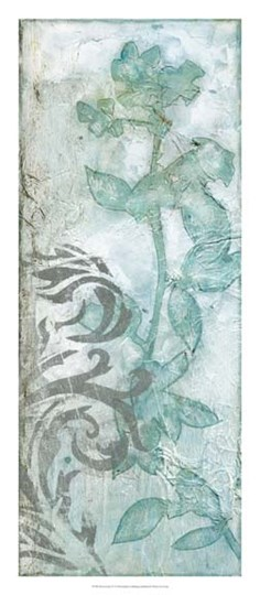 Flower Spray IV by Jennifer Goldberger art print