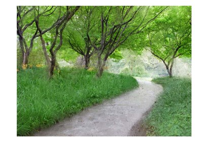 Along the Path by Kimberly Allen art print