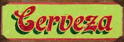 Cervesa Lime by RetroPlanet art print