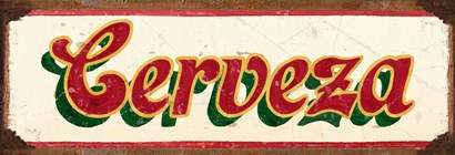 Cervesa Cream by RetroPlanet art print