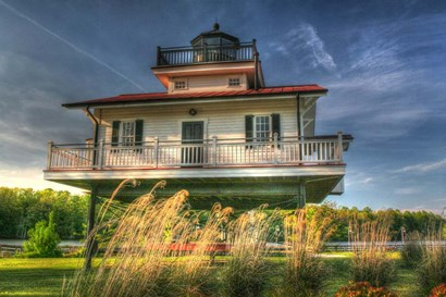 Carolina Lighthouse by Robert Goldwitz art print