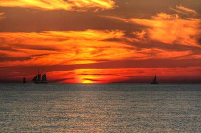 Key West Sunset XVI by Robert Goldwitz art print