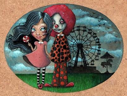 Carousel by Helena Reis art print