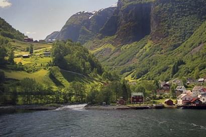 #224 Norway by J.D. McFarlan art print