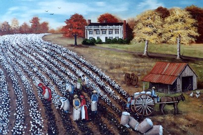 The Lincoln Cotton Field by Arie Reinhardt Taylor art print