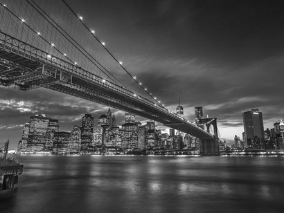 Manhattan BW by Assaf Frank art print