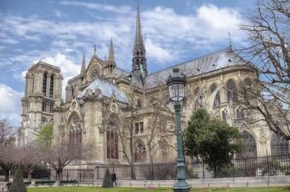 Notre Dame de Paris II by Cora Niele art print