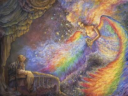 Healing Angel by Josephine Wall art print