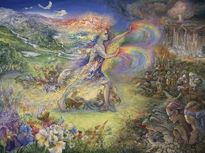 No More by Josephine Wall art print