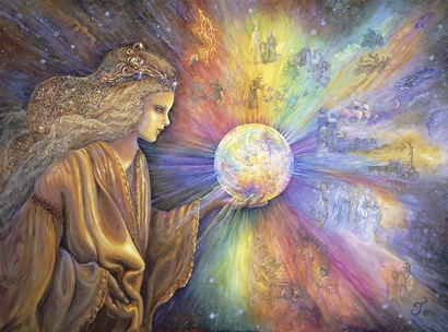 Oracle by Josephine Wall art print