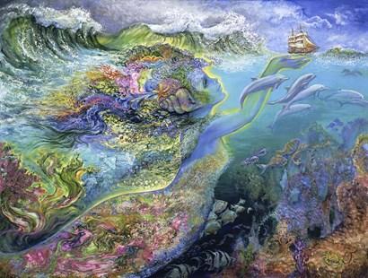 Spirit Of The Ocean by Josephine Wall art print