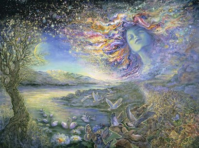 Star-Scape by Josephine Wall art print