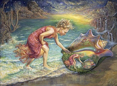 The Discovery by Josephine Wall art print