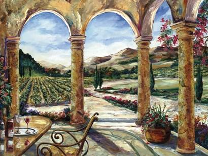 Sedona Portico by Karen Stene art print