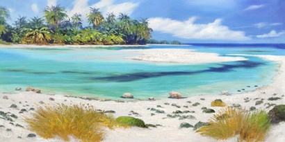 Tropical Paradise by Pierre Benson art print