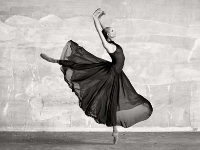 Ballerina Dancing by Haute Photo Collection art print