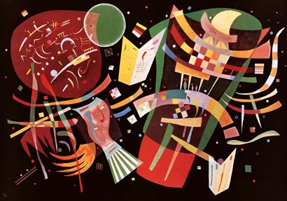 Komposition X c1939 by Wassily Kandinsky art print