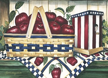 Apple Harvest by Laurie Korsgaden art print