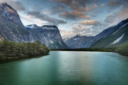 Norway - Scenic by Maciej Duczynski art print