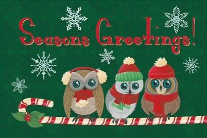 Christmas Parliament IV by Elyse DeNeige art print