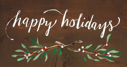 Happy Holidays by Molly Susan Strong art print