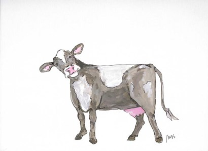 Cow by Molly Susan Strong art print