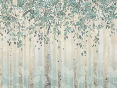 Dream Forest I Silver Leaves by James Wiens art print