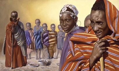 Africa Ten by D. Rusty Rust art print