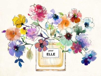 Perfume Bouquet by Michelle Clair art print
