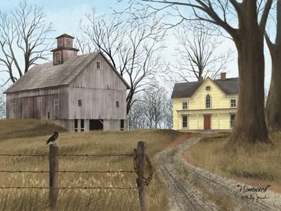 Homeward by Billy Jacobs art print