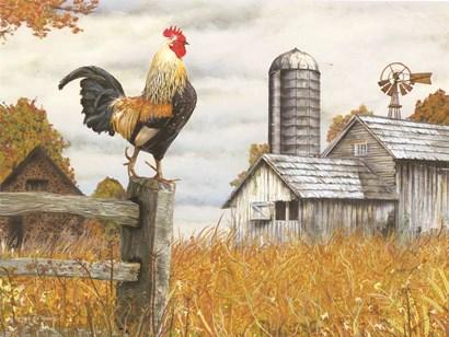Down on the Farm II by Ed Wargo art print
