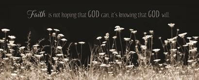 Faith Is? by Lori Deiter art print