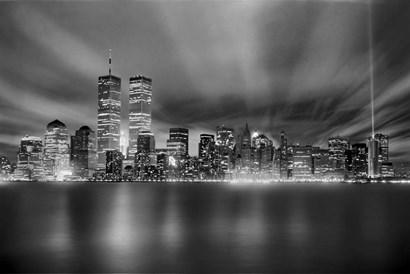 Nyc Wtc Skyline Finished by Mike Jones Photo art print