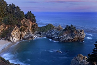 Big Sur McWay Falls by Mike Jones Photo art print