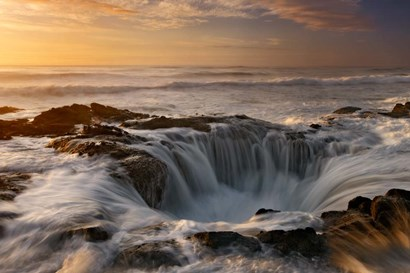 Oregon Thor's Well by Mike Jones Photo art print
