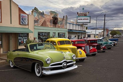 Rt 66 Fun Run Kingman by Mike Jones Photo art print
