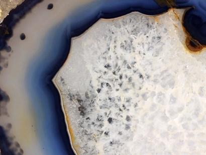 Mineral Slice V by Nature's Little Gems art print