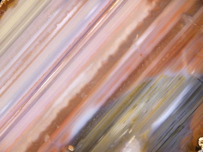 Mineral Slice IX by Nature's Little Gems art print